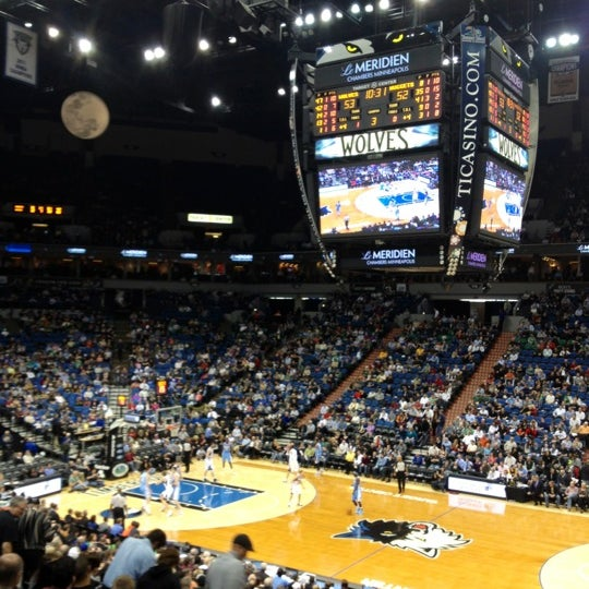 Photo taken at Target Center by Michelle C. on 12/13/2012