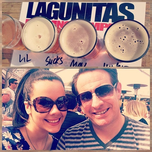 Photo taken at Lagunitas Brewing Company by Sofia T. on 3/8/2014
