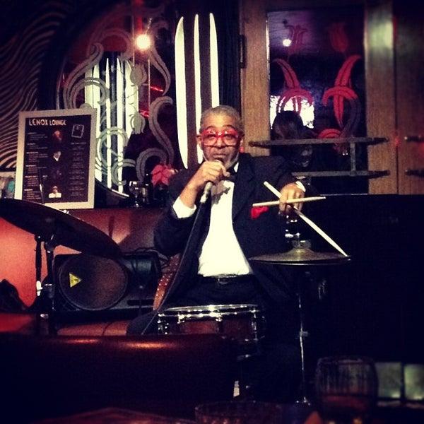 Photo taken at Lenox Lounge by Gabe B. on 12/22/2012