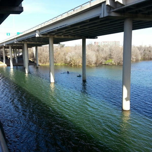 Photo taken at Lady Bird Lake Trail by Tracy S. on 2/19/2013