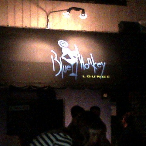 Photo taken at The Blue Monkey Lounge by KD on 10/13/2012