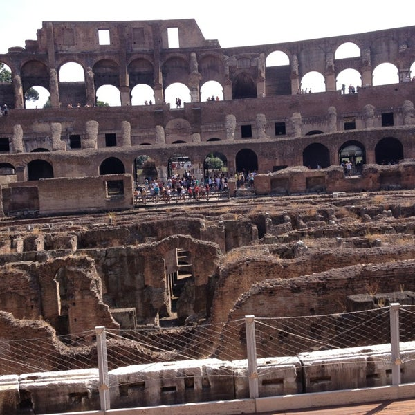 Photo taken at Piazza del Colosseo by George on 7/13/2013