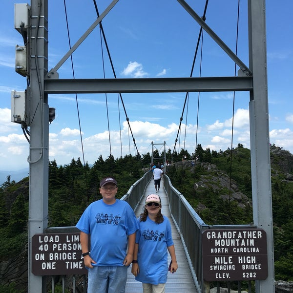 Photo taken at Grandfather Mountain by Lisa D. on 6/25/2016