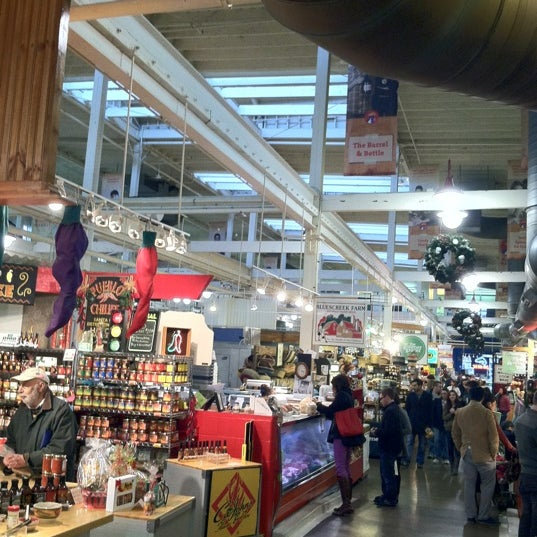 Photo taken at North Market by Ian C. M. on 12/9/2012
