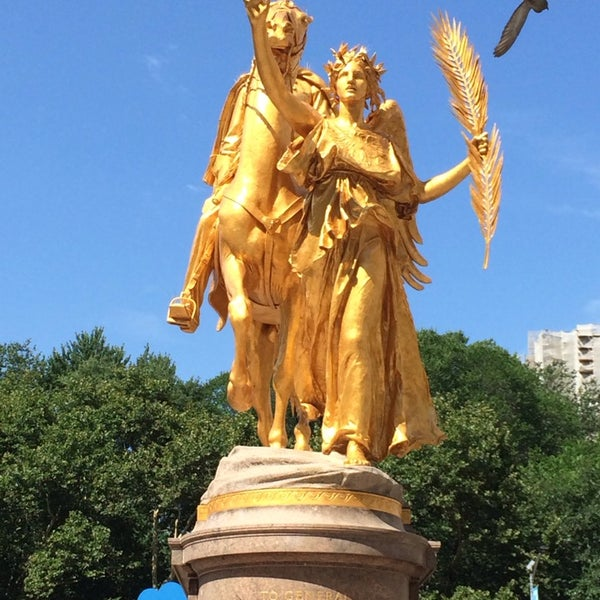 Photo taken at Grand Army Plaza by Chancellor M. on 7/16/2014