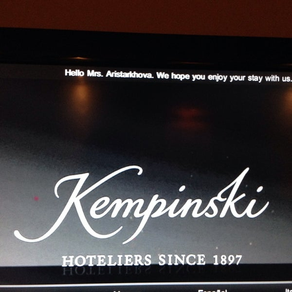 Photo taken at Kempinski Hotel Corvinus by Anastasia A. on 1/6/2014