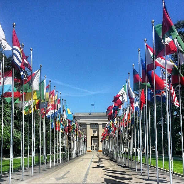 Photo taken at Palais des Nations by Oliver N. on 6/2/2013