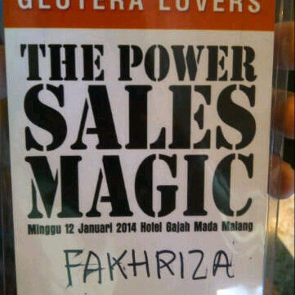 Photo taken at Hotel Gajahmada Graha by Fakhriza R. on 1/12/2014
