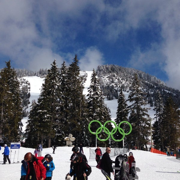 Photo taken at Cypress Mountain by Wayne B. on 3/23/2014