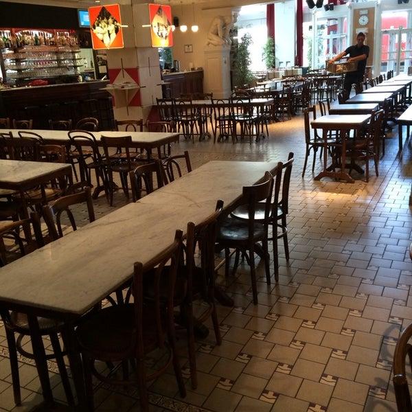 Photo taken at Vooruit Café by Brecht S. on 5/30/2014