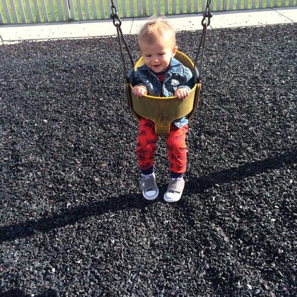 Photo taken at Annie's Playground by Leslie W. on 10/7/2014