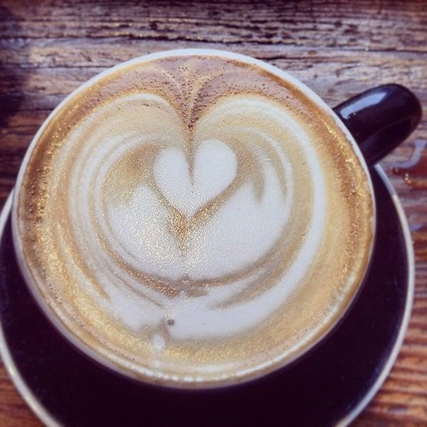Photo taken at Bonanza Coffee by Christian H. on 2/17/2013