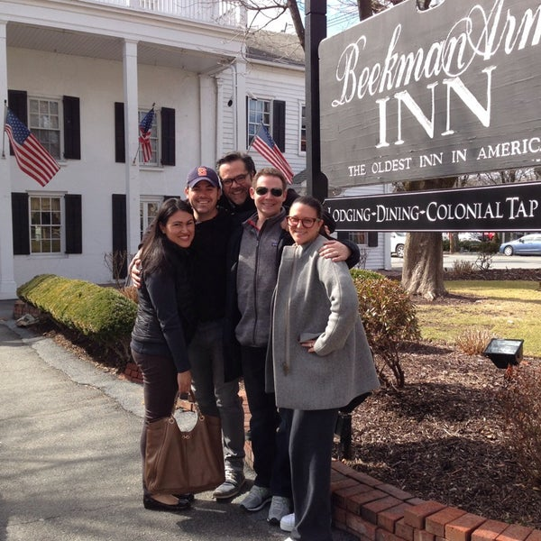 Photo taken at Beekman Arms-Delamater Inn by JAMESON P. on 4/5/2014