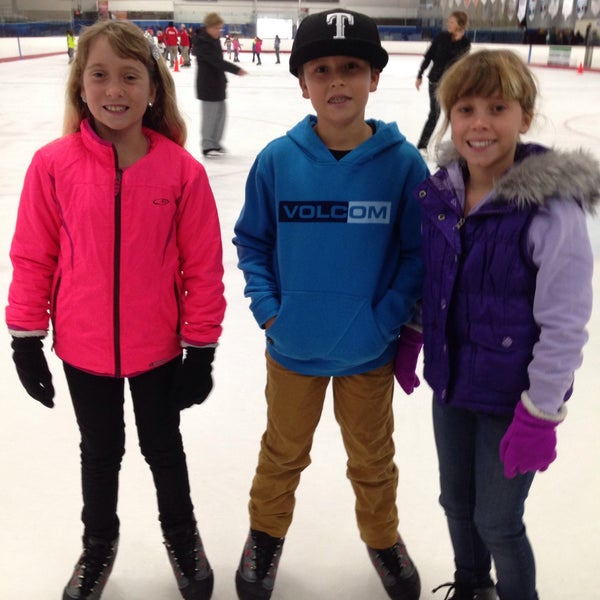 Photo taken at San Diego Ice Arena by Melissa W. on 1/8/2015