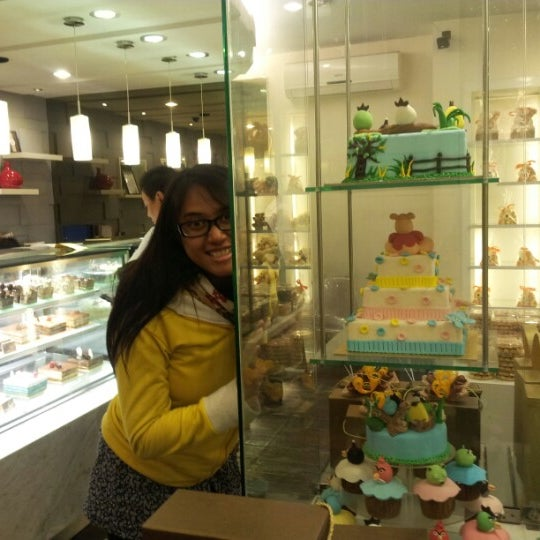 Photo taken at Clairmont Patisserie by Zarp H. on 10/30/2012