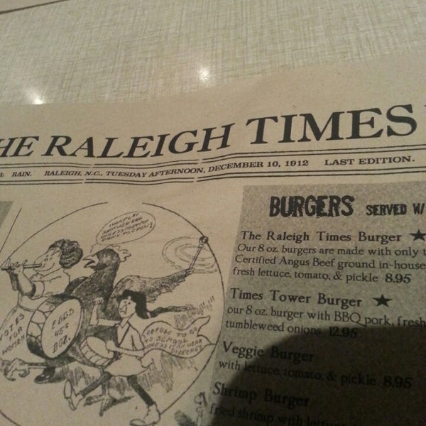 Photo taken at The Raleigh Times Bar by William S. on 4/13/2014