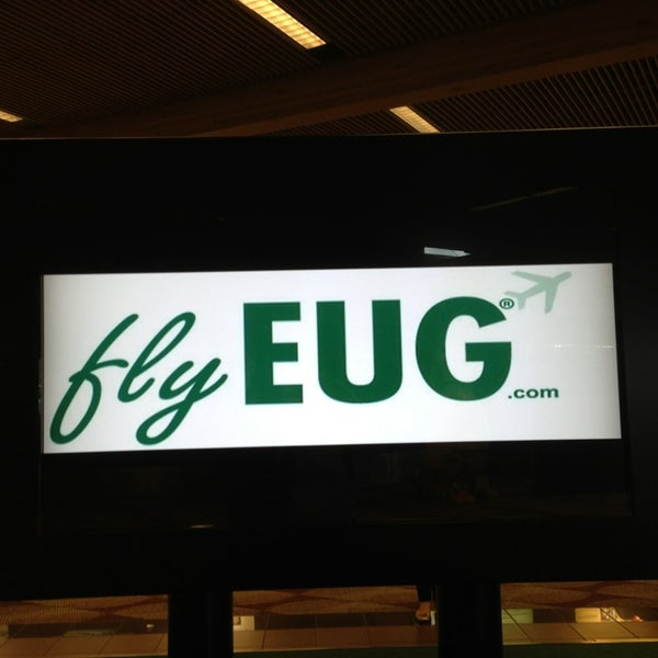Photo taken at Eugene Airport (EUG) by Miss Liberty Tax on 2/19/2013