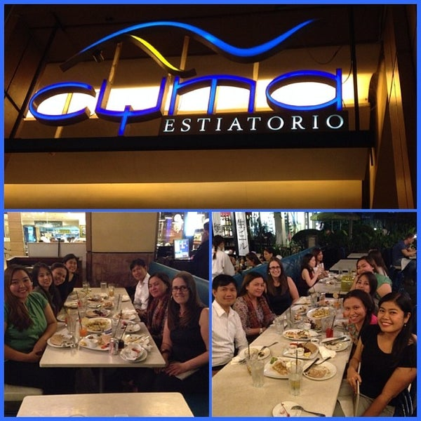 Photo taken at Cyma by Brandee T. on 1/23/2014