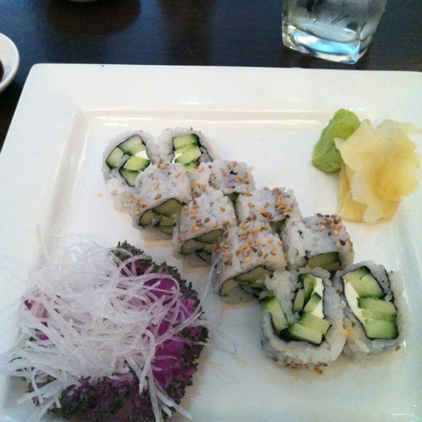 Photo taken at Blu Sushi by Alanah on 1/3/2014