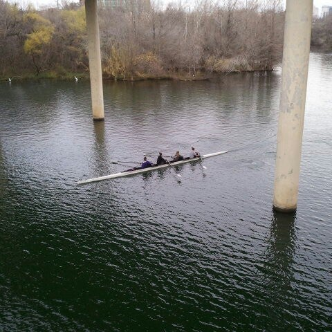 Photo taken at Lady Bird Lake Trail by Liz S. on 1/14/2013