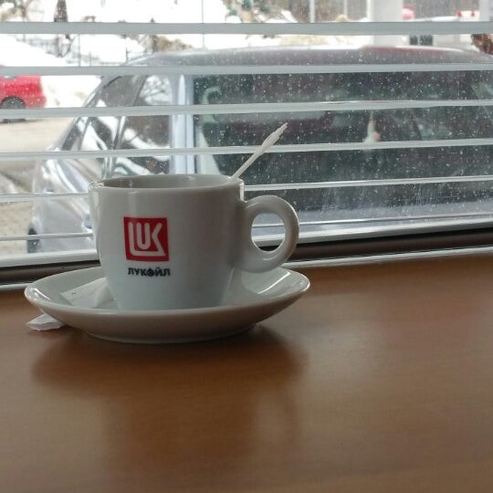 Photo taken at LukOil Straza by Dzole on 3/16/2015