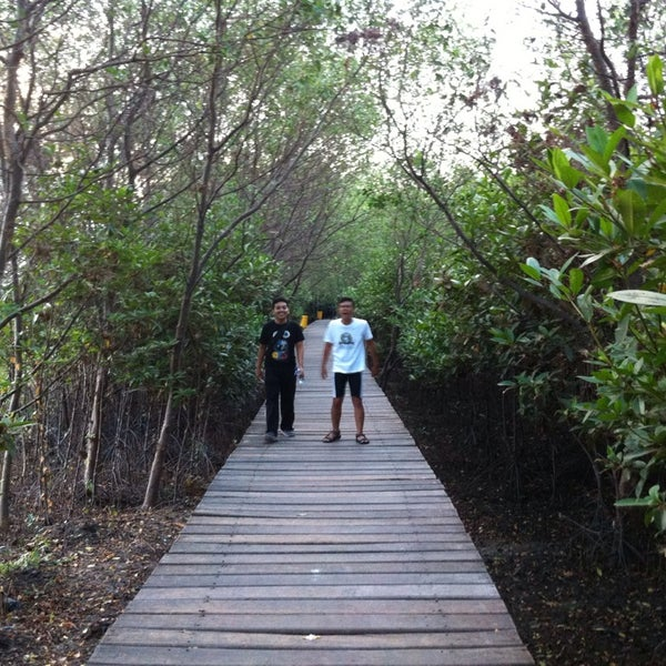 Photo taken at Ekowisata Mangrove by Adith W. on 11/15/2014
