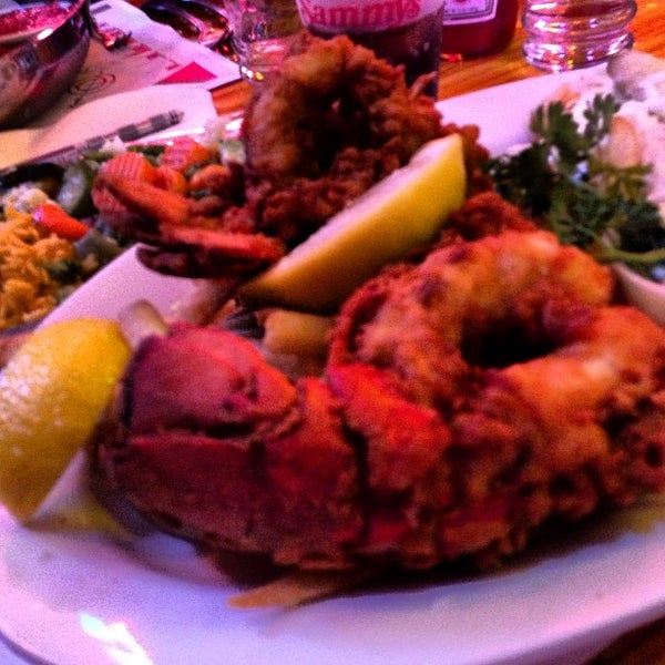 Photos at sammy 39 s fish box restaurant city island 80 for Sammy s fish box