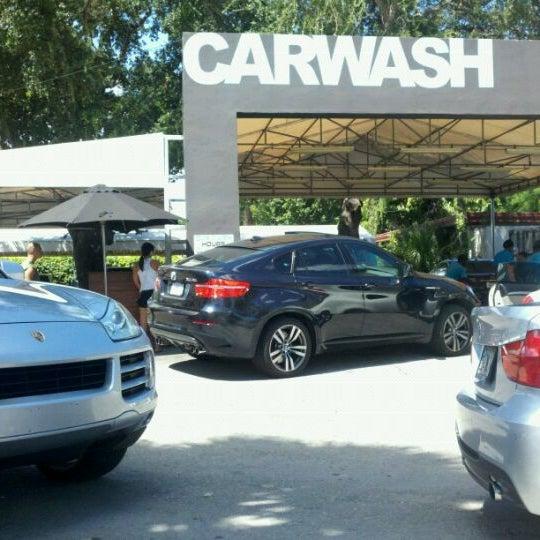 Photo taken at Karma Car Wash by Lori W. on 9/18/2011