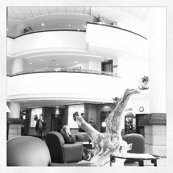 Photo taken at Kempinski Hotel Corvinus by Roberto D. on 3/27/2012