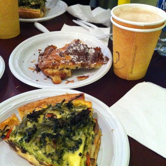 Photo taken at Almondine Bakery by Ann N. on 3/27/2012
