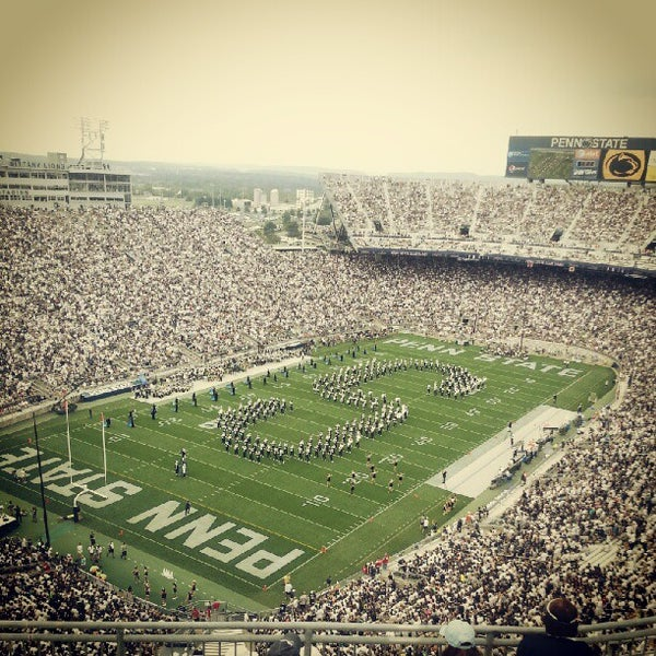 Photo taken at Beaver Stadium by Scott I. on 9/1/2012
