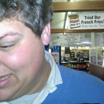Photo taken at Big G's Deli by Jeffrey S. on 11/5/2011