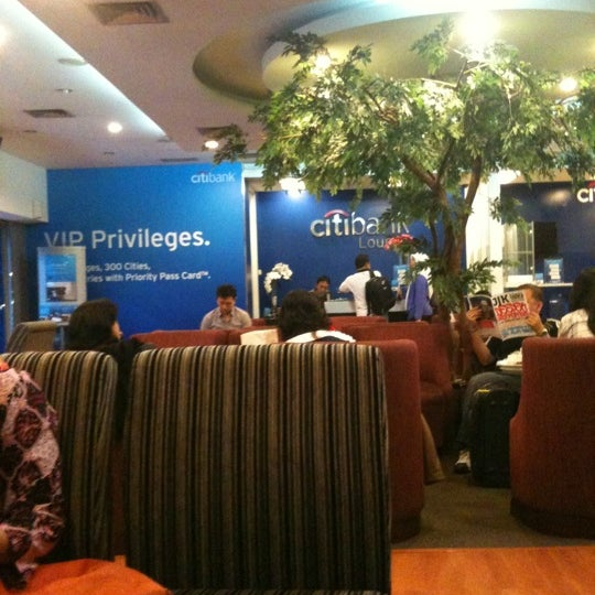Photo taken at Citibank Lounge by Gatot Dwi A. on 3/22/2012