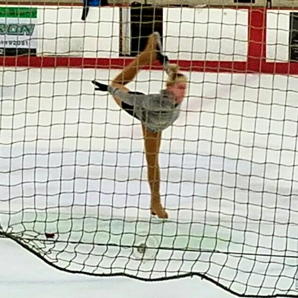 Photo taken at San Diego Ice Arena by Lisa K. on 4/22/2016