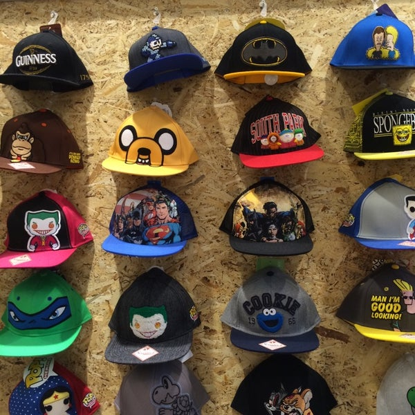 Pop culture clothing store