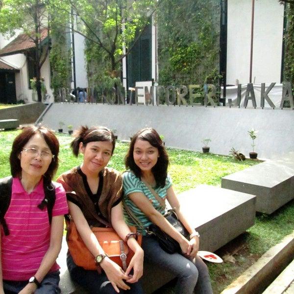 Photo taken at Museum Seni Rupa dan Keramik by Adelina P. on 8/4/2014