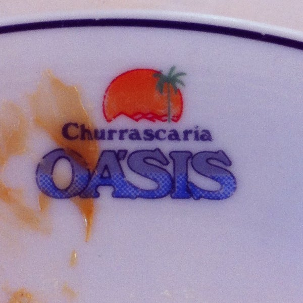 Photo taken at Oasis Churrascaria by Fernanda B. on 12/21/2012