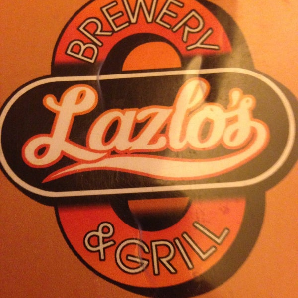 Photo taken at Lazlo's Brewery & Grill by Natalie M. on 4/17/2013