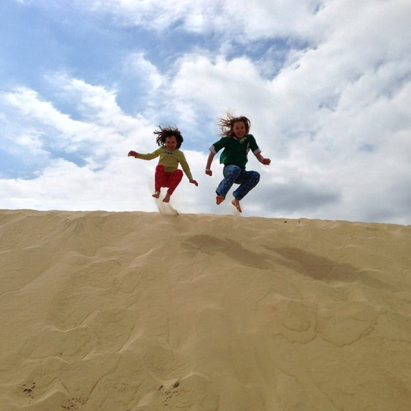 Photo taken at Jockey's Ridge State Park by Stacey B. on 3/26/2013