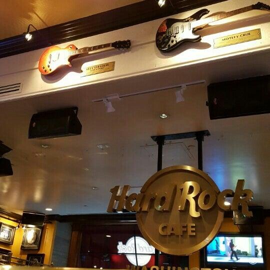 Photo taken at Hard Rock Cafe Washington DC by Carol K. on 5/14/2016