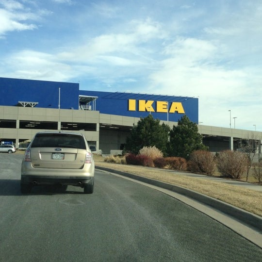 Photo taken at IKEA Centennial by Lyndia D. on 12/16/2012