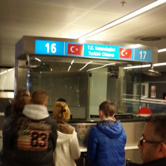 Photo taken at Sabiha Gökçen International Airport (SAW) by Mahmut on 3/17/2014