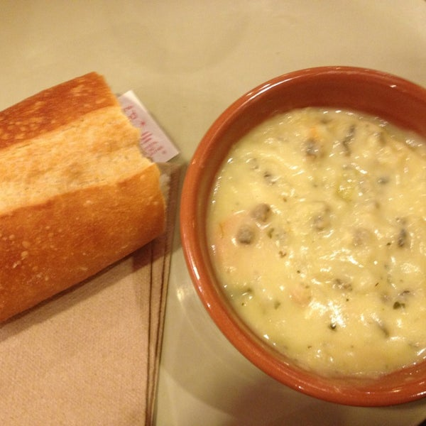 Photo taken at Panera Bread by Caroline on 4/5/2013