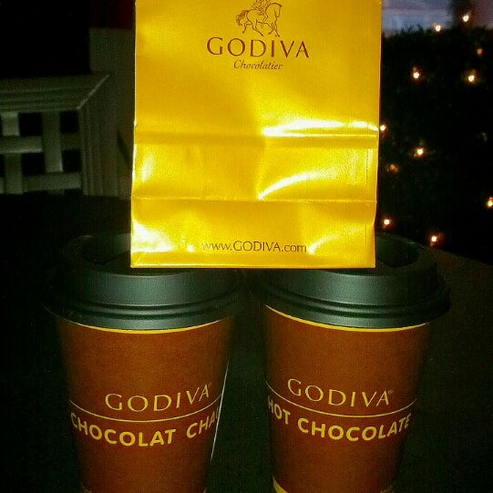 Photo taken at Godiva Chocolatier by Cindy M. on 1/22/2013