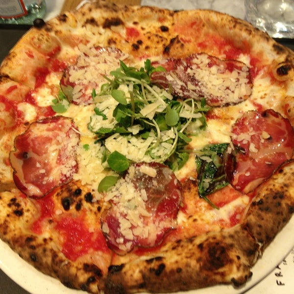 Photo taken at Franco Manca by Francesca on 1/16/2014