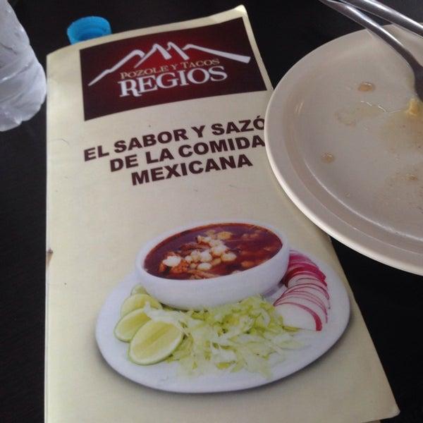 Photo taken at Pozole y Tacos Regios by Adrián F. on 1/19/2014