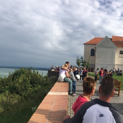 Photo taken at Tihanyi Apátság by Geri F. on 8/11/2016