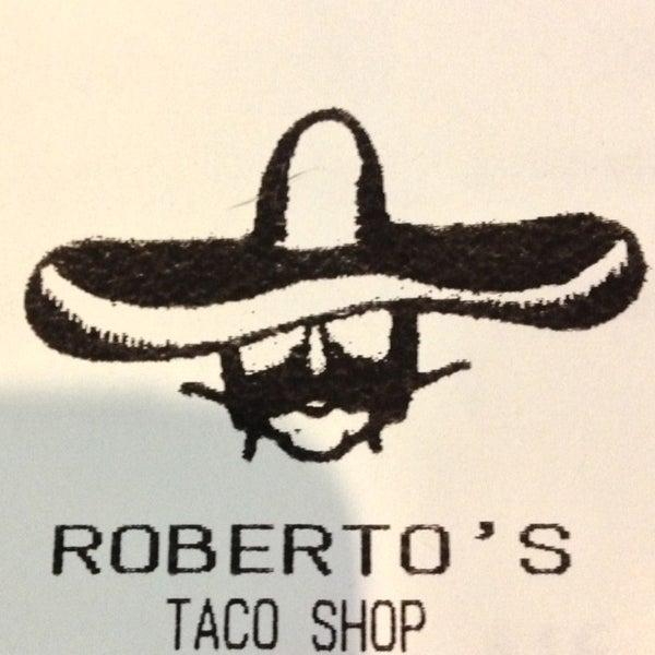 Photo taken at Roberto's Taco Shop by Teri C. on 5/19/2013