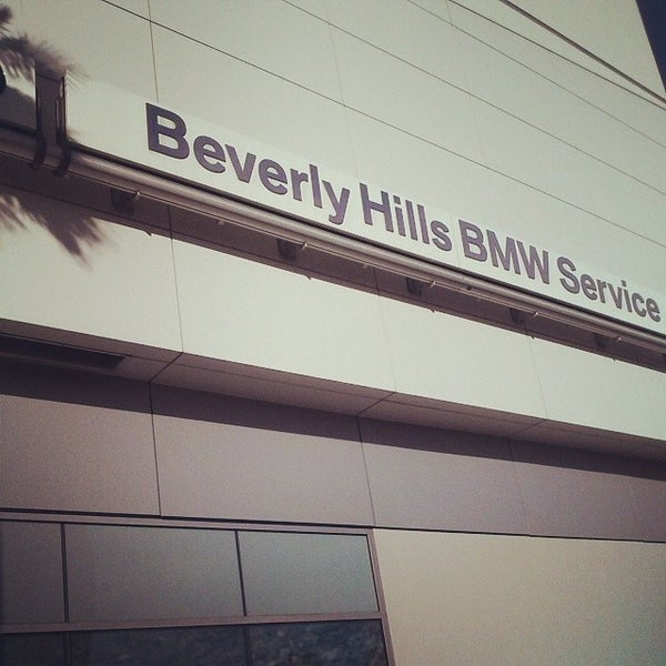 Photo taken at BMW of Beverly Hills Service Department by Damian-Michael W. on 1/6/2014