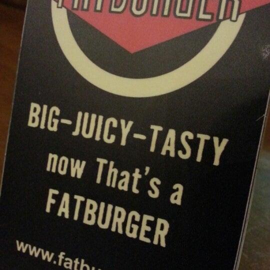Photo taken at Fatburger | فات برجر by Areej on 1/23/2013